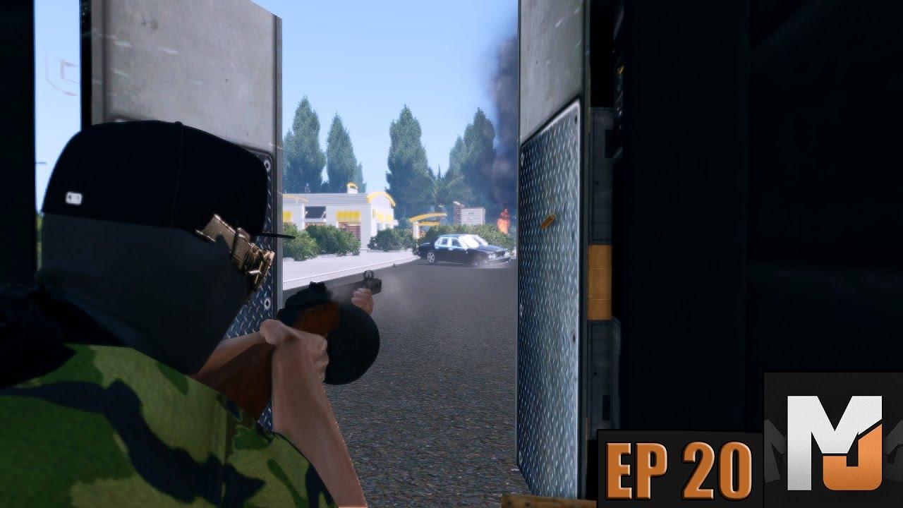 Drive By Shooting Pablo Sends His Regards | NoPixel | Ep20