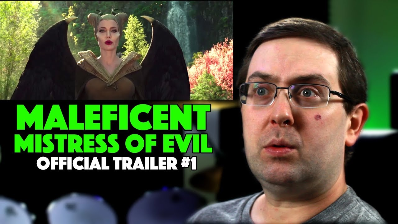 Reaction Maleficent Mistress Of Evil Trailer 1 Angelina Jolie Movie 2019