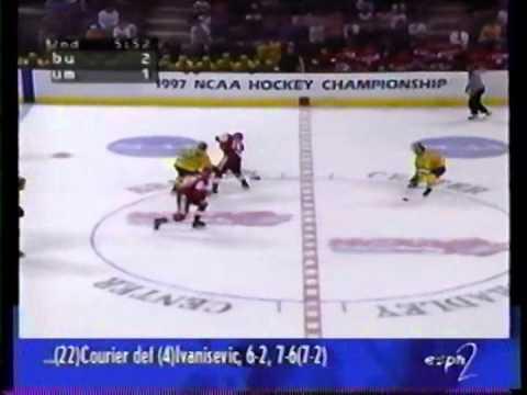 1997 Frozen Four: Boston University vs. Michigan