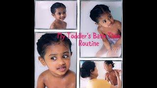 Toddler Bath time Routine