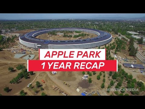 Thumbnail: APPLE PARK 1 Year Recap 4K