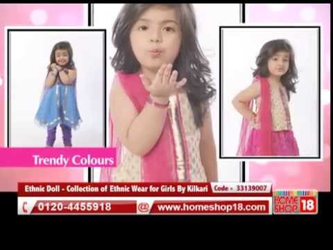 Ethnic Doll - Collection of Ethnic Wear for Girls