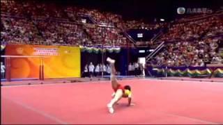 奧運精英匯香江20080830 (體操 自由體操 鄒凱)