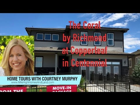 New Homes in Centennial Colorado - Coral Model by Richmond at Copperleaf