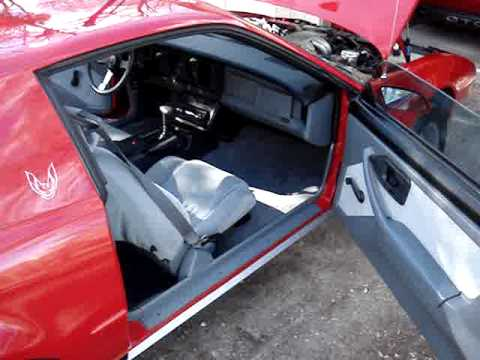 1987 Firebird Formula 350 in showroom condition  YouTube