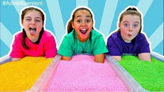 FOAM BALLS TOY CHALLENGE GAME!! Part 2