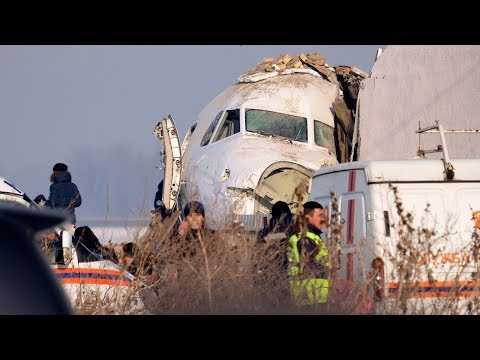 Kazakhstan plane crash kills 12, dozens of survivors in hospital