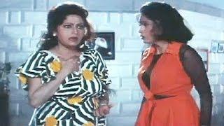 Govinda, Shakti Kapoor Chasing the Girl - Banarsi Babu Scene