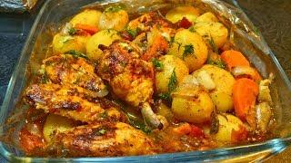 чахохбили в духовке (рецепт без заморочек)