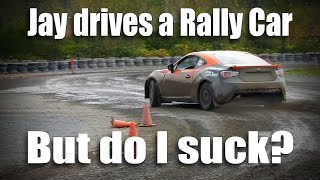 My first time driving a Rally Car... did I suck?
