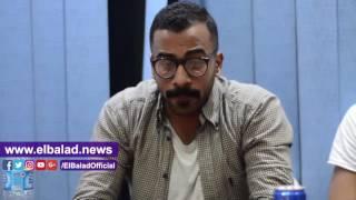 رمضان محمد  لصدى البلد  : فخور بالتعاون مع المنتجة مى مسحال .. فيديو