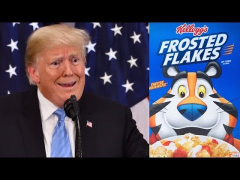 Trump: You Need ID To Buy Cereal