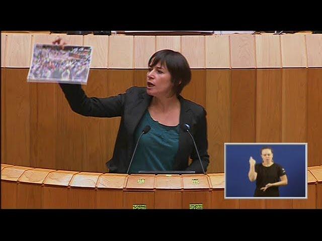 Repaso de Ana Pontón á Conselleira de Medio Rural. Para non perder!!