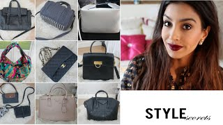 One of Style Secrets's most viewed videos: Handbag Collection1: My Most Used | Style Secrets x