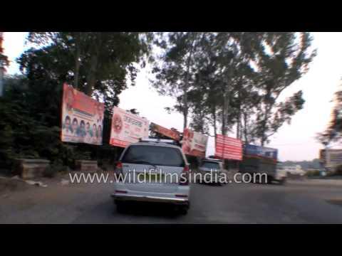 Driving from Rishikesh to Haridwar