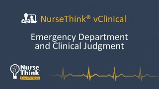 Emergency Department and Clinical Judgement