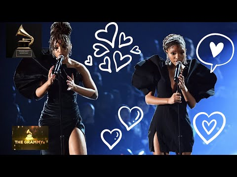 "CHLOE X HALLE - ""Where is the Love"" AMAZING GRAMMY PERFORMANCE 