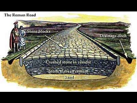 Roman Roads - How Were They Made?