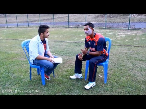 Nepal V Namibia | Pre - Match Interview with Sompal Kami