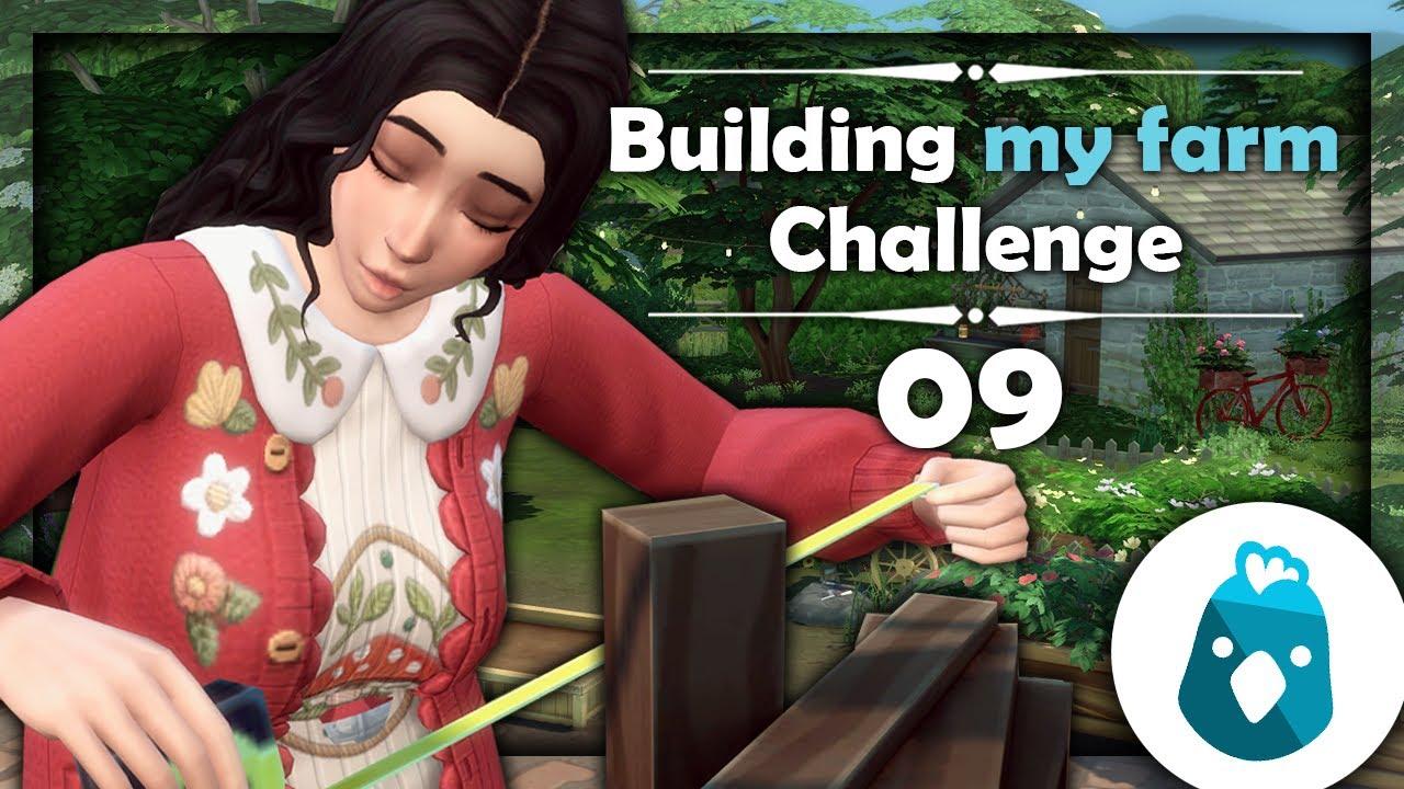 ☾ Building my farm challenge, bricolons ! - Sims 4 ☽