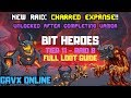 Bit Heroes - Raid 8 - Full Loot Guide - T11