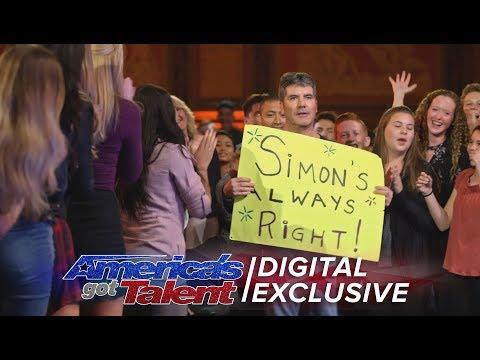 Simon Cowell: Ladies Man and Tangerine Fan - America's Got Talent 2017