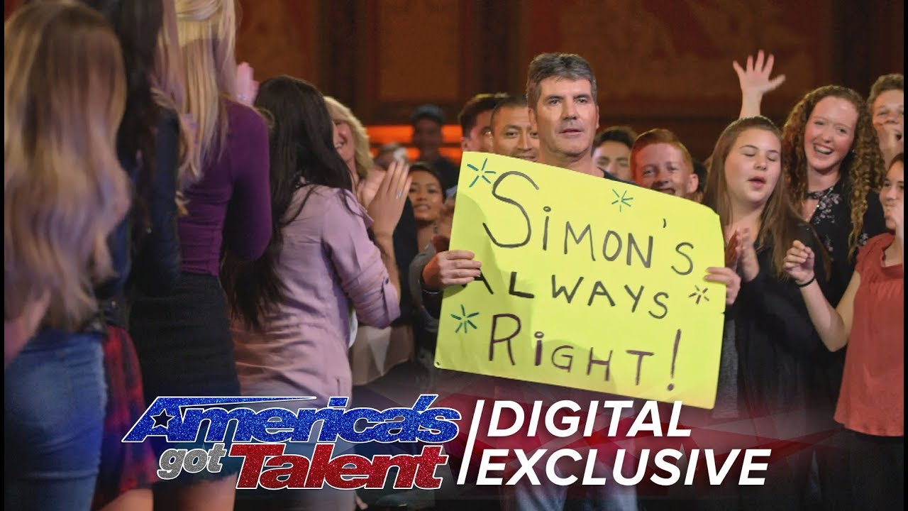 Simon Cowell: Ladies Man and Tangerine Fan – America's Got Talent 2017