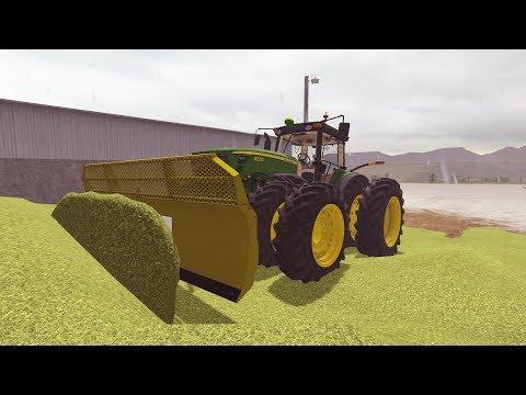 FARMING SIMULATOR 2017   WE NEED A NEW LOADER TRACTOR!   FEEDING COWS   EP #23