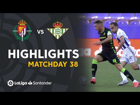 Valladolid Betis Goals And Highlights