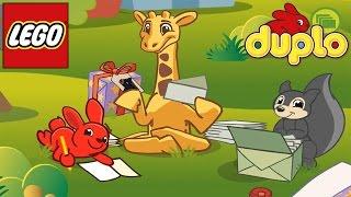 Мультик Игра ЛЕГО ДУПЛО Животные. Путешествие Кролика и Жирафа / LEGO DUPLO Animals