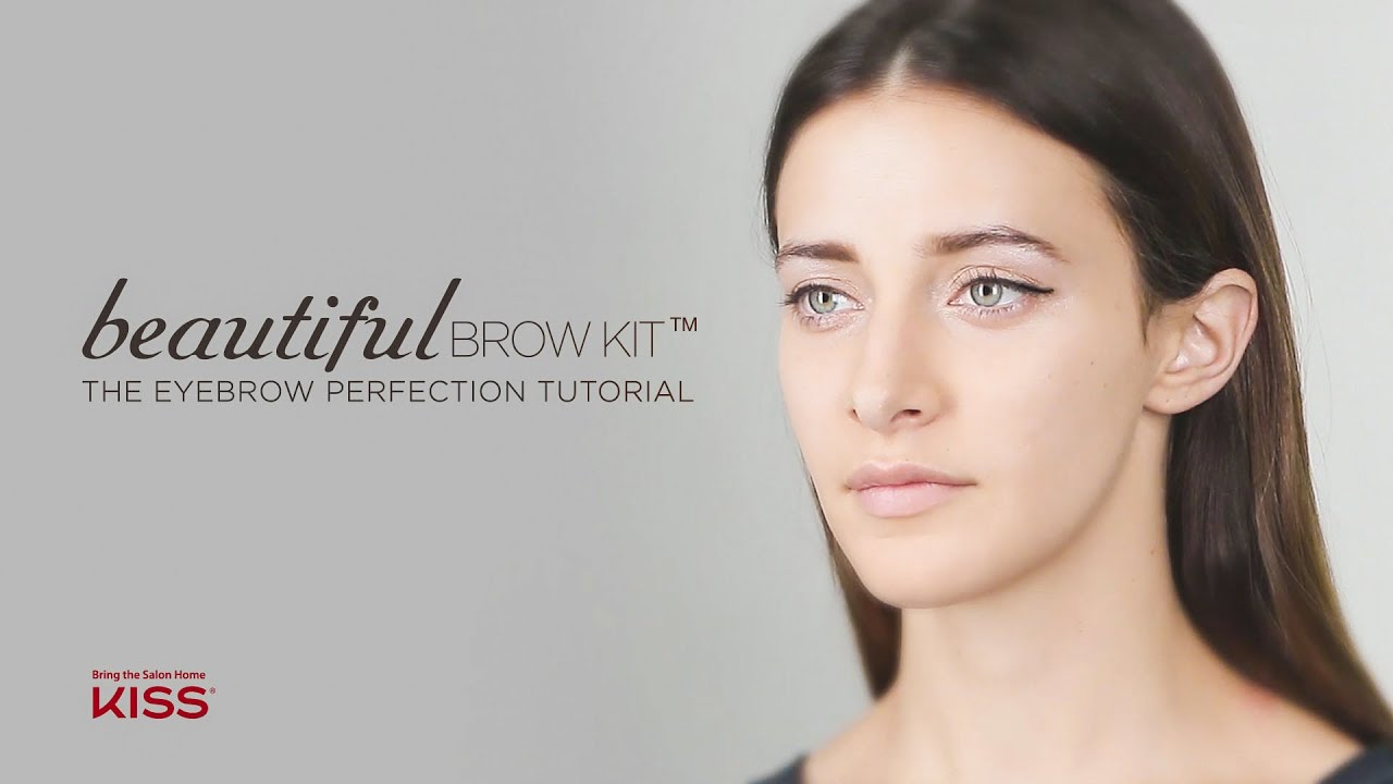 The Eyebrow Perfection Tutorial Youtube