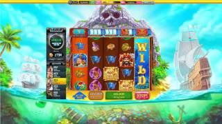 Slotomania Slot Machines - New Game TREASURE SHIP ● Scatter , Treasure Spin and Cannonball WILD