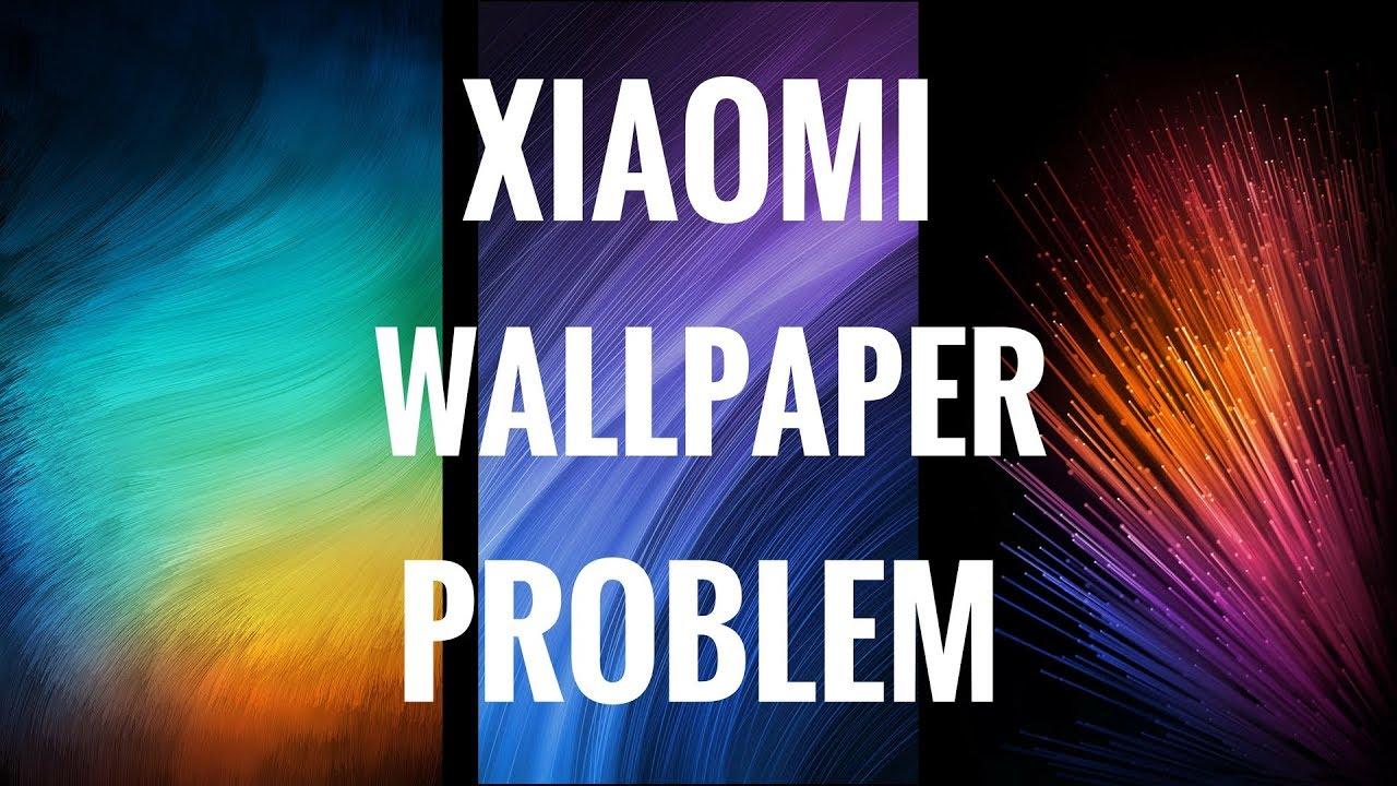 Wallpaper Problem Redmi 5 Xiaomi 2018 Working Youtube