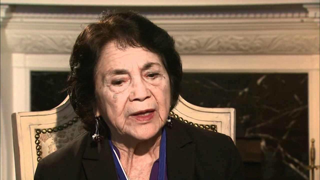 Still an Activist at 82, Dolores Huerta Calls Herself 'a Born-Again Feminist'