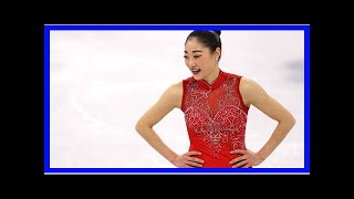 American Skater Mirai Nagasu Falls During Her Second Try at the Triple Axel at Winter Olympics