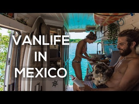 VAN LIFE  A Day in The Life  MEXICO