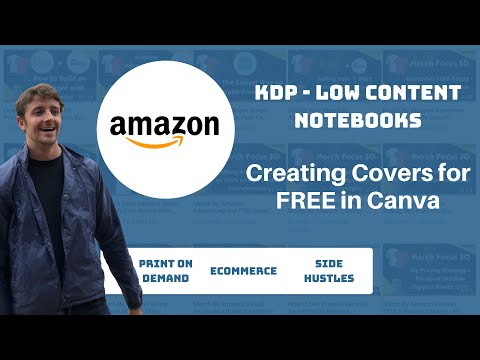 Creating Covers For KDP Low Content Notebooks The FREE Way With Canva