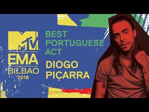 MTV EMA 2018: Best Portuguese Act - Diogo Piçarra | MTV Portugal
