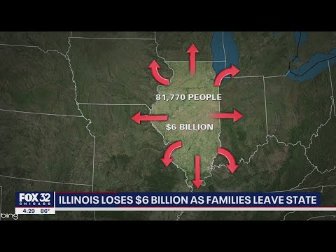 Illinois Exodus: Residents Leaving the State In Droves