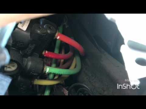 Volvo VNL dash air brake valve replacement - YouTube