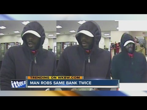 Man robs Lancaster bank for second time