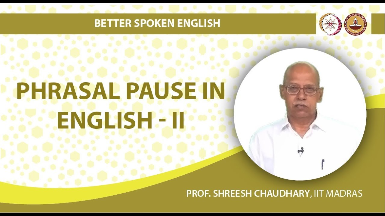 Phrasal Pause in English II