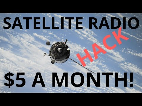 Hack for SiriusXM Satellite Radio for $5 a month! Mp3