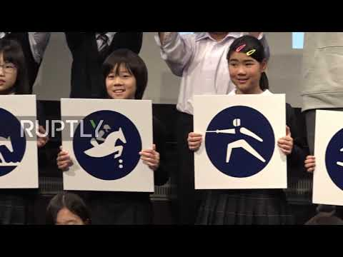 Japan: Tokyo unveils pictograms for 2020 Olympics and Paralympics