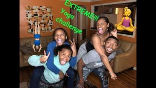 Extreme Yoga Challenge!!! (Siblings Edition)