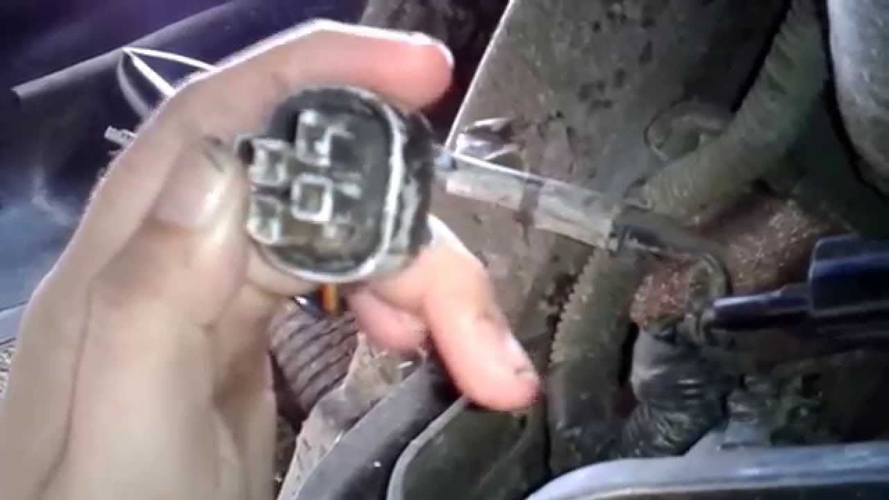 Isuzu Rodeo Fuel wiring connections - YouTube