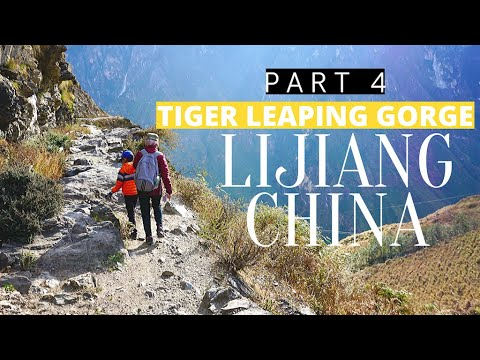 Tiger Leaping Gorge, Yunnan, China Hiking With 7 Years Old Child 2019 Eng Sub