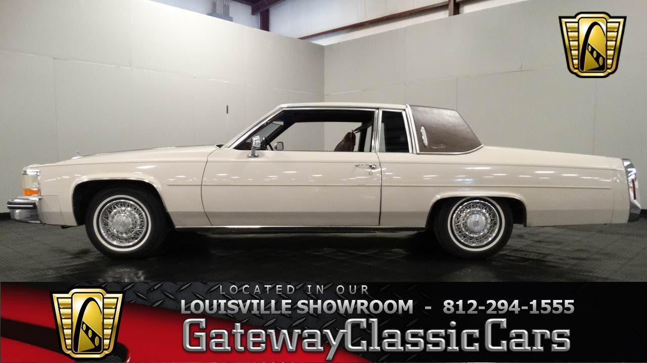 1984 Cadillac Coupe DeVille - Louisville Showroom - Stock ...