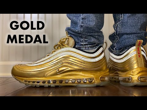 This Air Max 97 Looks Like A Gold Medal Youtube