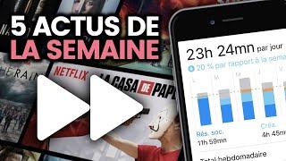 Notre addiction aux réseaux sociaux, la grève, Netflix en vitesse x2... 5 actus de la semaine
